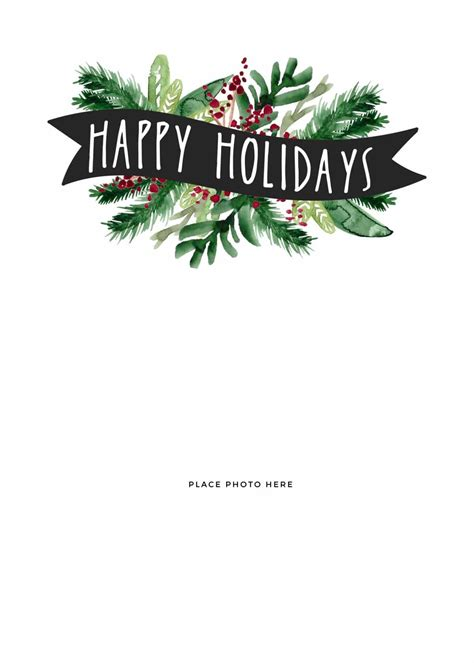Make Your Own Photo Christmas Cards For Free Somewhat Simple Templates For Cards Free