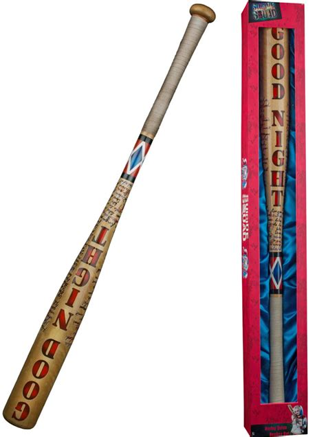 Sale Topi Baseball Squad Harley Quinn harley quinn s baseball bat replica at mighty ape nz