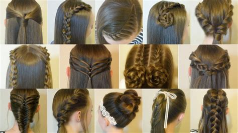 Hairstyles For Hair Easy And by 14 And Easy Hairstyles For Back To School Hair