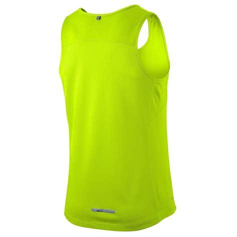 Nike Singlet buy nike miler mens running singlet volt slashsport