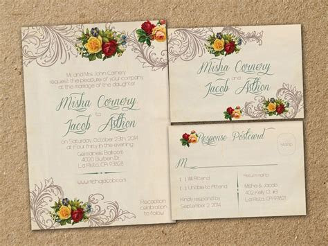Garden Wedding Invitation Card Template by Garden Wedding Invitations Template Resume Builder