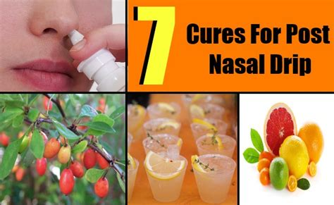 7 cures for post nasal drip how to cure post nasal drip