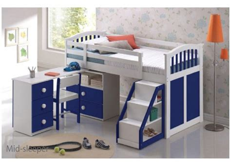 Childrens Mid Sleepers by Uk Bed Store Established In 1975 As Crown Carpets