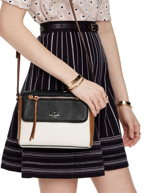 Kate Spade Mini Toddy kate spade new york cobble hill mini toddy in black lyst