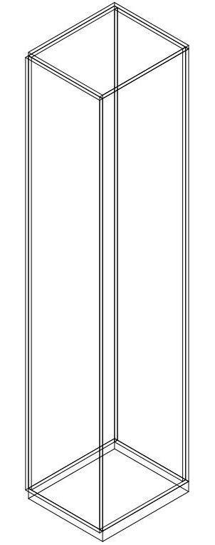 blocchi cad armadio armadio dwg 1 anta in 3d