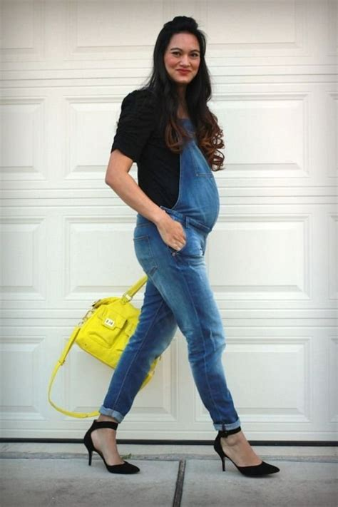 fashion how to wear overalls overalls created by doris knezevic how to wear denim overalls during pregnancy