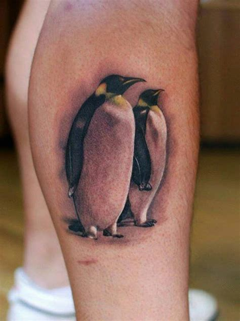 90 penguin tattoos for the animal lover