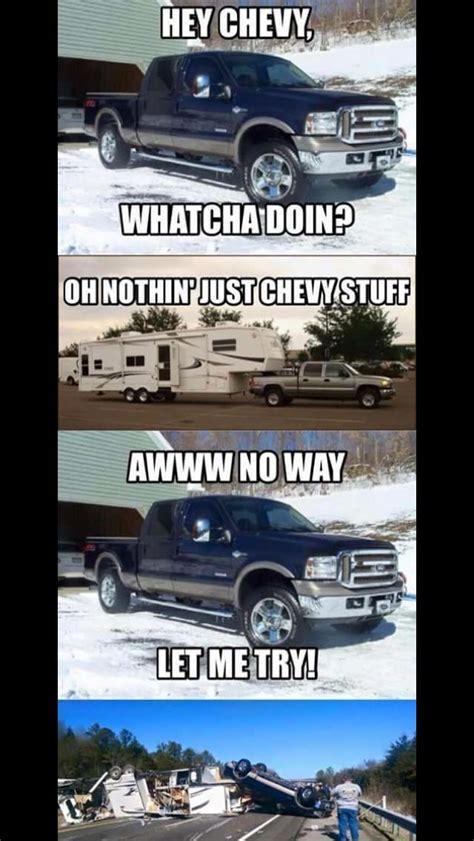 chevy ford chevy jokes truck memes chevy trucks