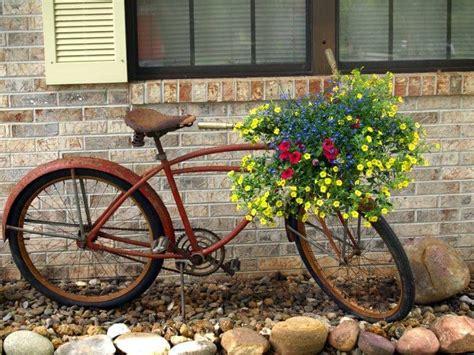 Gartendeko Fahrrad by 46 Ideen F 252 R Gartendeko Rost Da Die Natur Am Besten