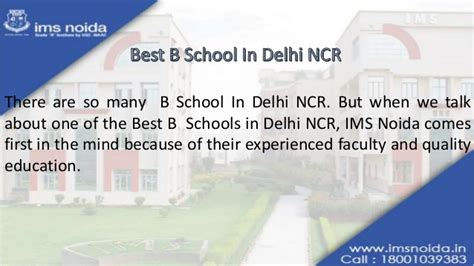 Best B Schools In Delhi For Mba by Best B School In Delhi Ncr