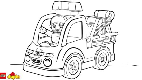 lego truck coloring page lego tow truck coloring pages murderthestout