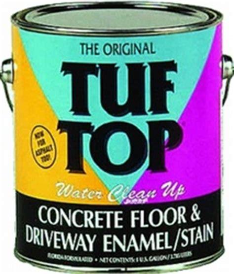 Tuf Top 1 Gal Concrete Floor & Driveway Enamel/Stain