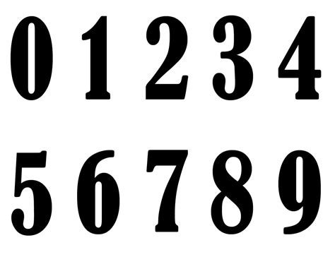 printable font numbers fancy printable number 6 newhairstylesformen2014 com