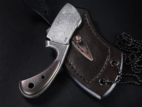custom neck knives for sale custom neck knife 332