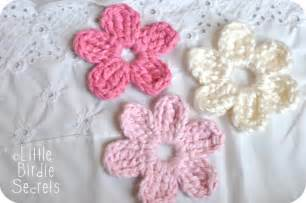 Free Easy Flower Crochet Patterns - free patterns crochet flowers free patterns
