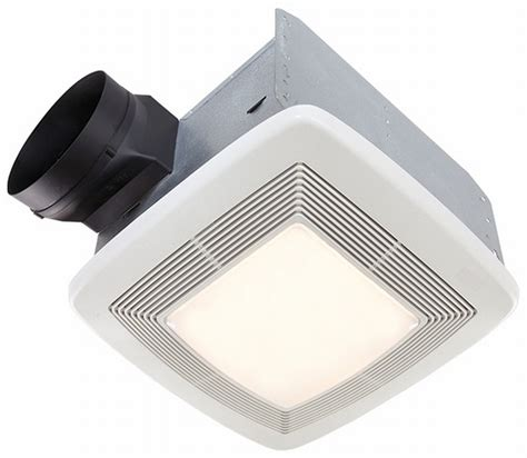Broan Nutone Qtxe150flt 150 Cfm Ultra Silent Bathroom Nutone Bathroom Fan Light