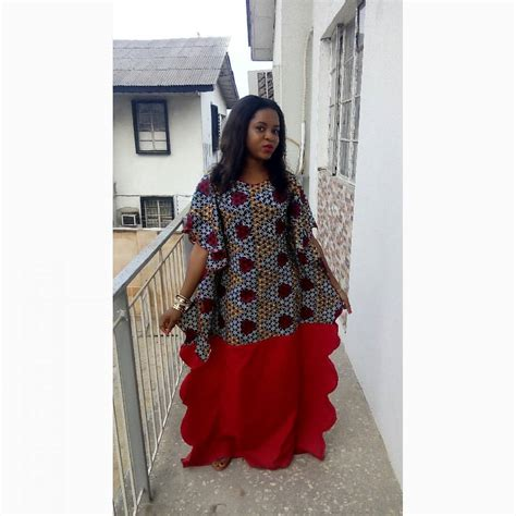 sylish bubu blogger elsie isy dazzles in boubou dress owambe style