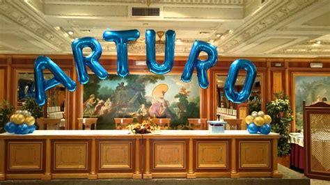 como decorar un salon para hombre decoraci 243 n con globos 18 a 241 os youtube