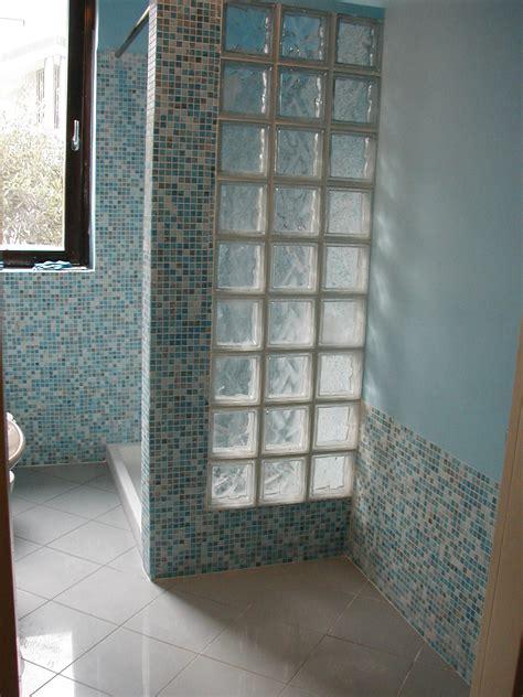 bagno vetrocemento vetrocemento doccia ispirazione design casa