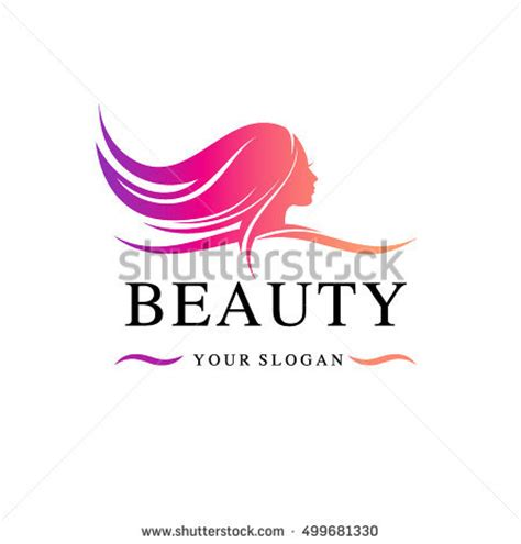 beauty layout vector hair salon logo stock images royalty free images