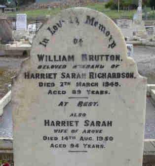 port lincoln cemetery records the richardson families of koppio