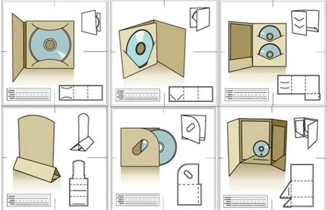 packaging cd templates 10 free product packaging templates design ginva
