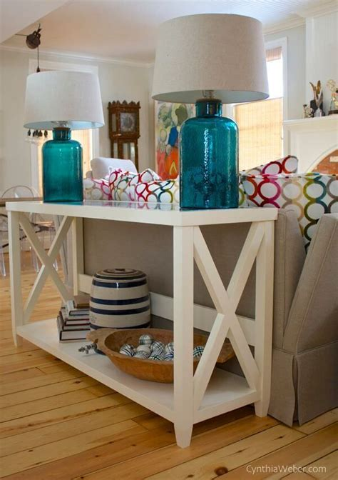 sofa table ideas 25 best ideas about sofa tables on pinterest rustic