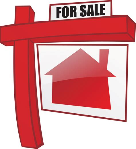 realty houses for sale real estate for sale sign clipart