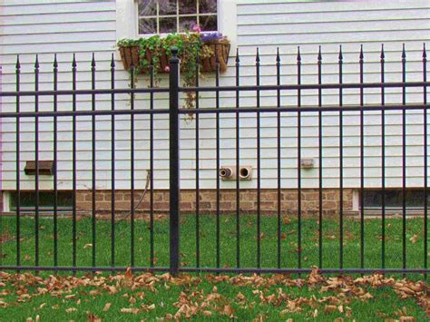 decorative aluminum fence designs