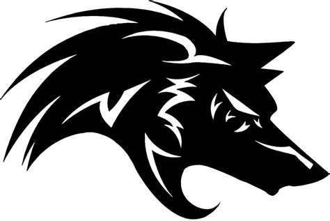 wolf logo by loubatas on deviantart