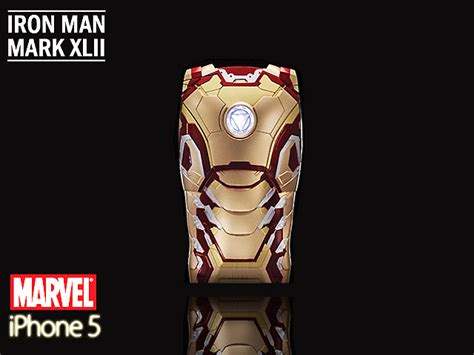 Armor Ironman Xiaomi Mi 4 iphone 5 5s se marvel iron xlii 42
