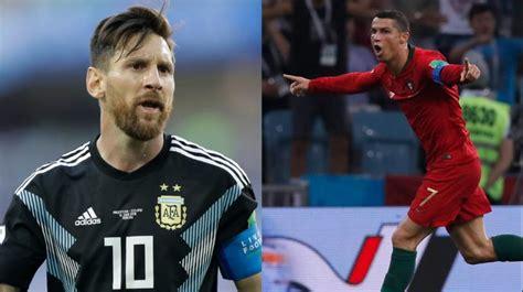messi world cup 2018 fifa world cup 2018 cristiano ronaldo 1 lionel messi 0 in