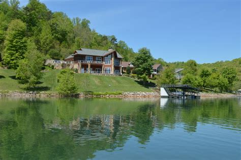 Lakefront Cabins For Sale In Tennessee by Featured Lake Property