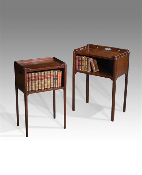 Vintage Bedside Tables by Pair Of Antique Bedside Table Georgian Stands