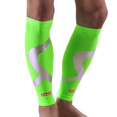 Murah Arsuxeo Cycling Leg Warmers kuangmi leg warmers cycling compression calf sleeve support sports leg sleeve pad running