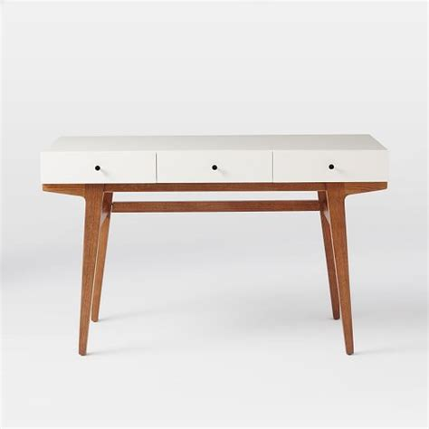 Modern Desk West Elm White Desk Modern