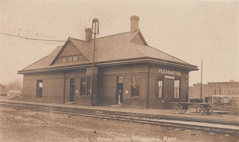Home Depot Pleasanton by Pleasanton Kansas Depot 187 Frisco Archive