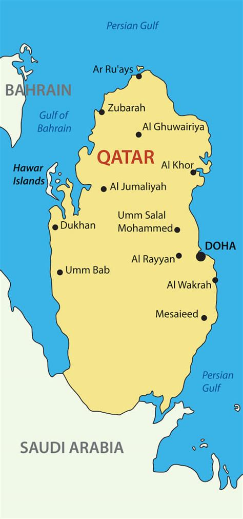 qatar in world map qatar facts for qatar for travel worldcup