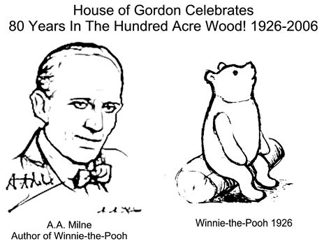 Gorden Winnie The Pooh house of gordon usa kid s corner coloring pages