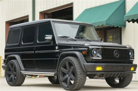 how does cars work 2005 mercedes benz g class engine control find used g55 amg grand edition fiveninedesign custom upgrades low mileage rare in