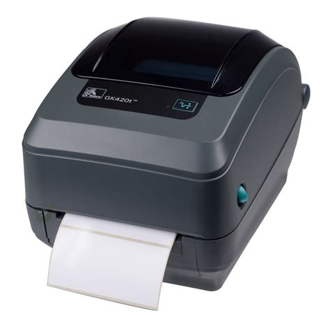Printer Gk420t label printer zebra gk420t direct thermal thermal transfer parallel rs 232 serial db 9 usb