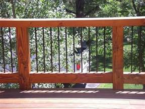 Outdoor Deck Spindles Definitely Considering Using Rebar As Part Of Our Deck