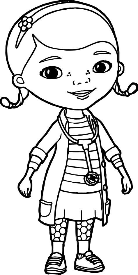 coloring pictures of doc mcstuffins just doc mcstuffins coloring page wecoloringpage