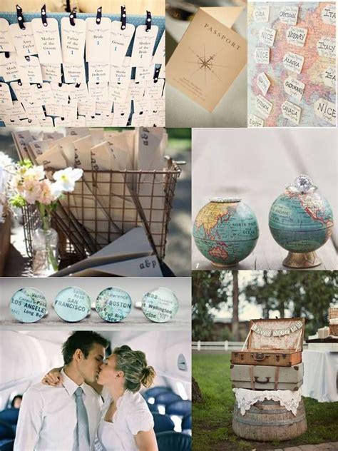 travel theme wedding ideas on travel themed weddings tra