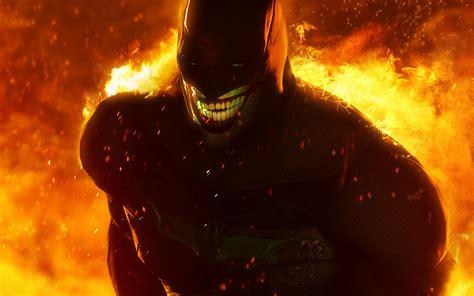 hd jokerized batman wallpaper