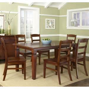aspen dining room set aspen 7 piece dining set in rustic cherry 5520 319
