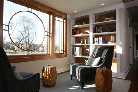 susanka architect library nook photo barry rustin