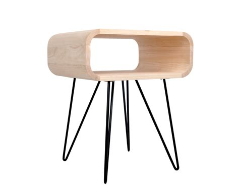 h 50 supplement metro end supplement table wood black by xl boom