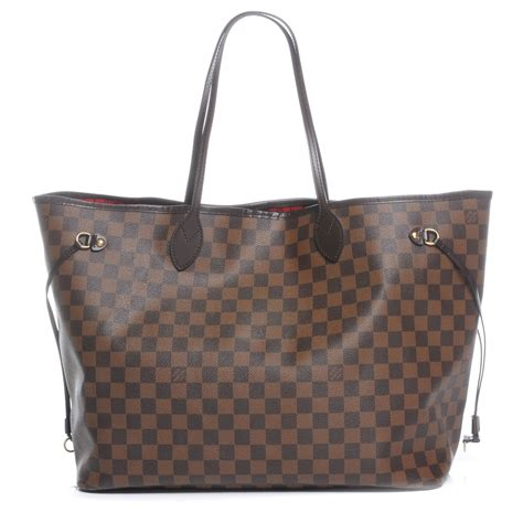 Neverfull Damiere louis vuitton damier ebene neverfull gm 46013