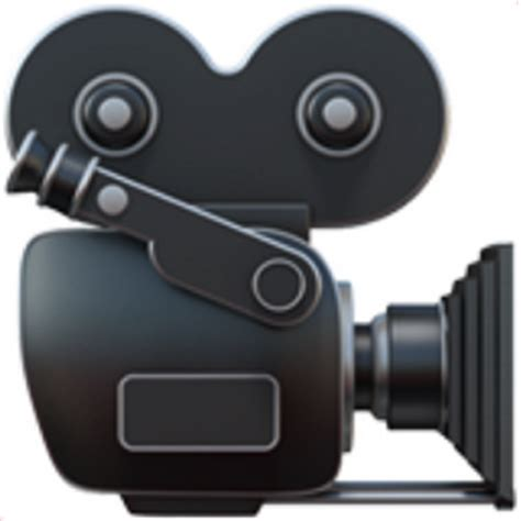 emoji film camera 8 movie camera emoji u 1f3a5